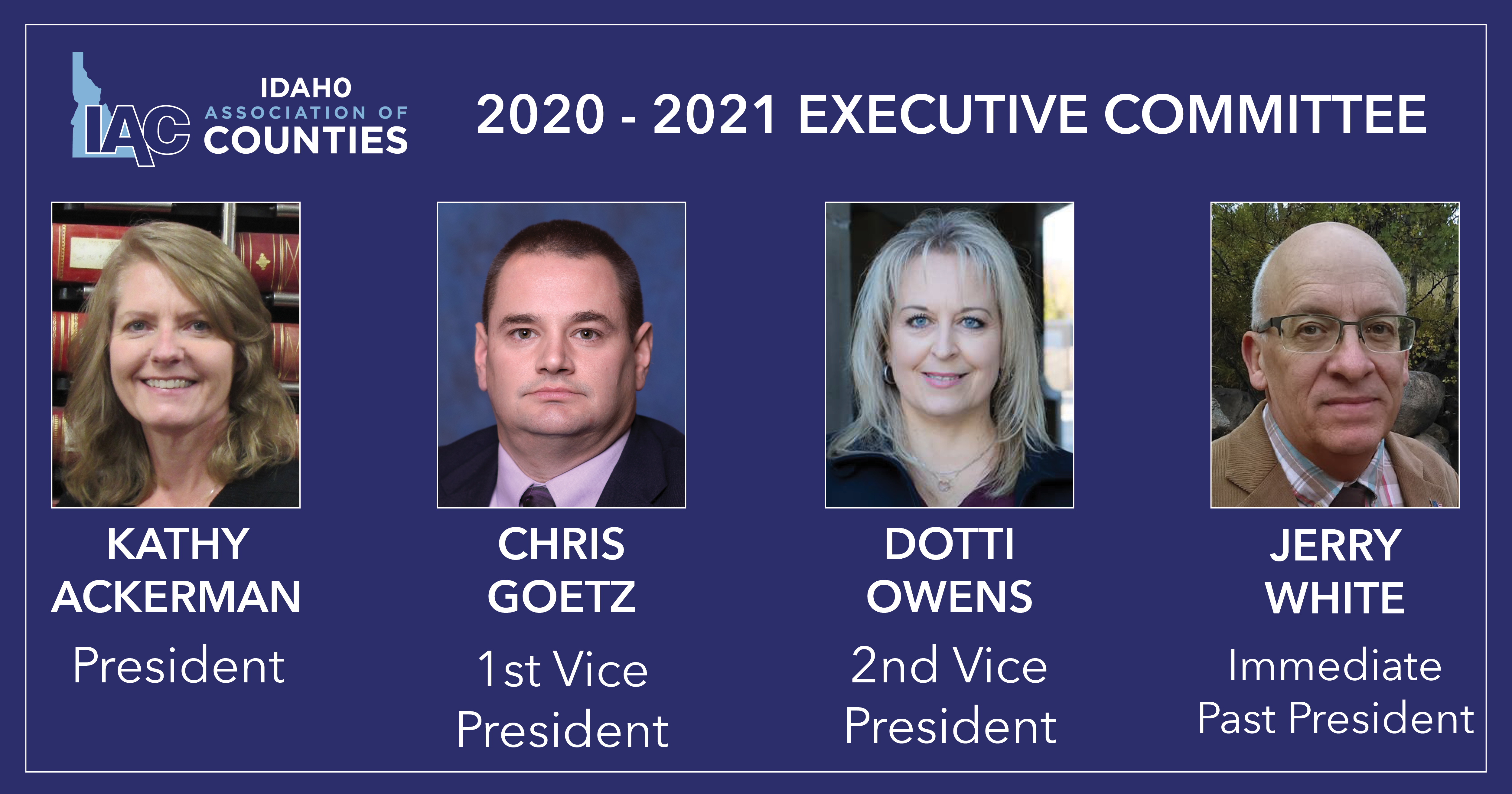 Idaho Association of Counties elects new leadership for 2020-2021