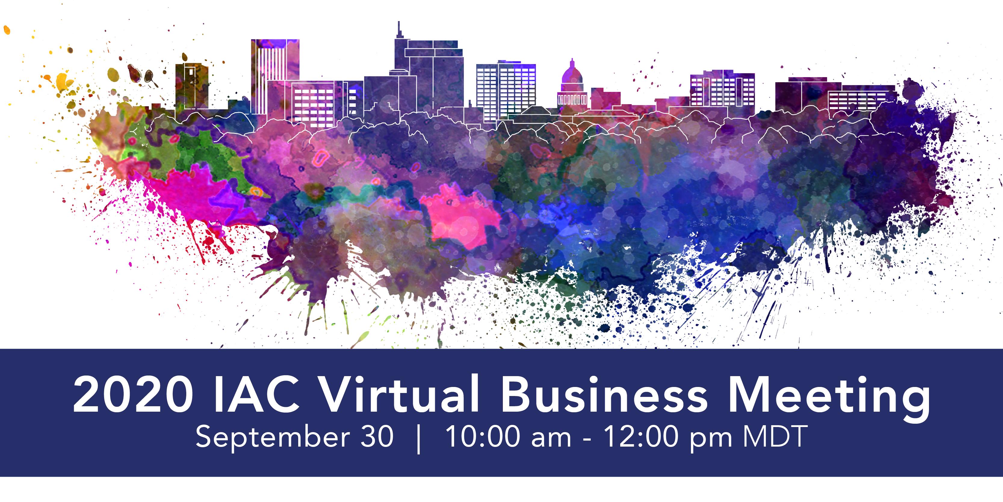 IAC Annual Business Meeting
