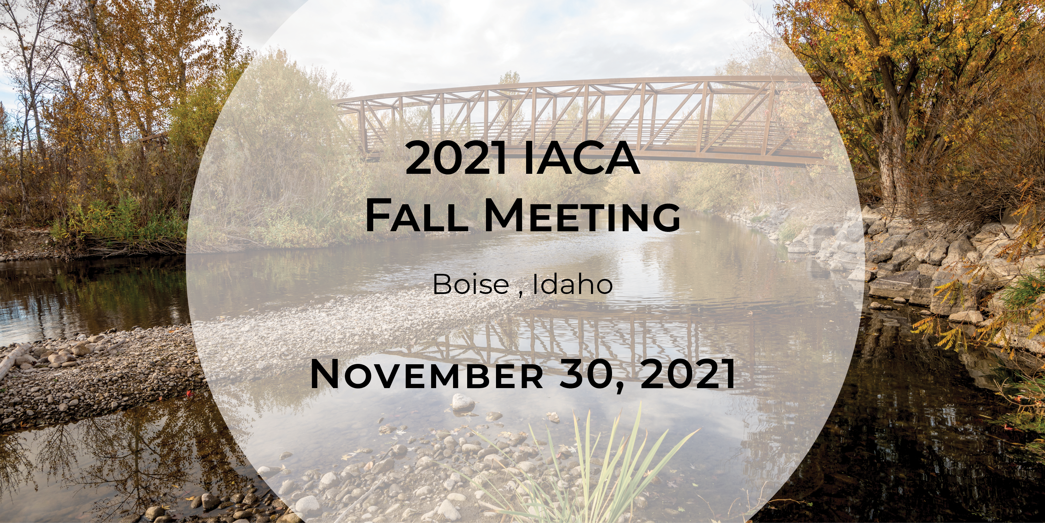 2021 IACA Fall Meeting