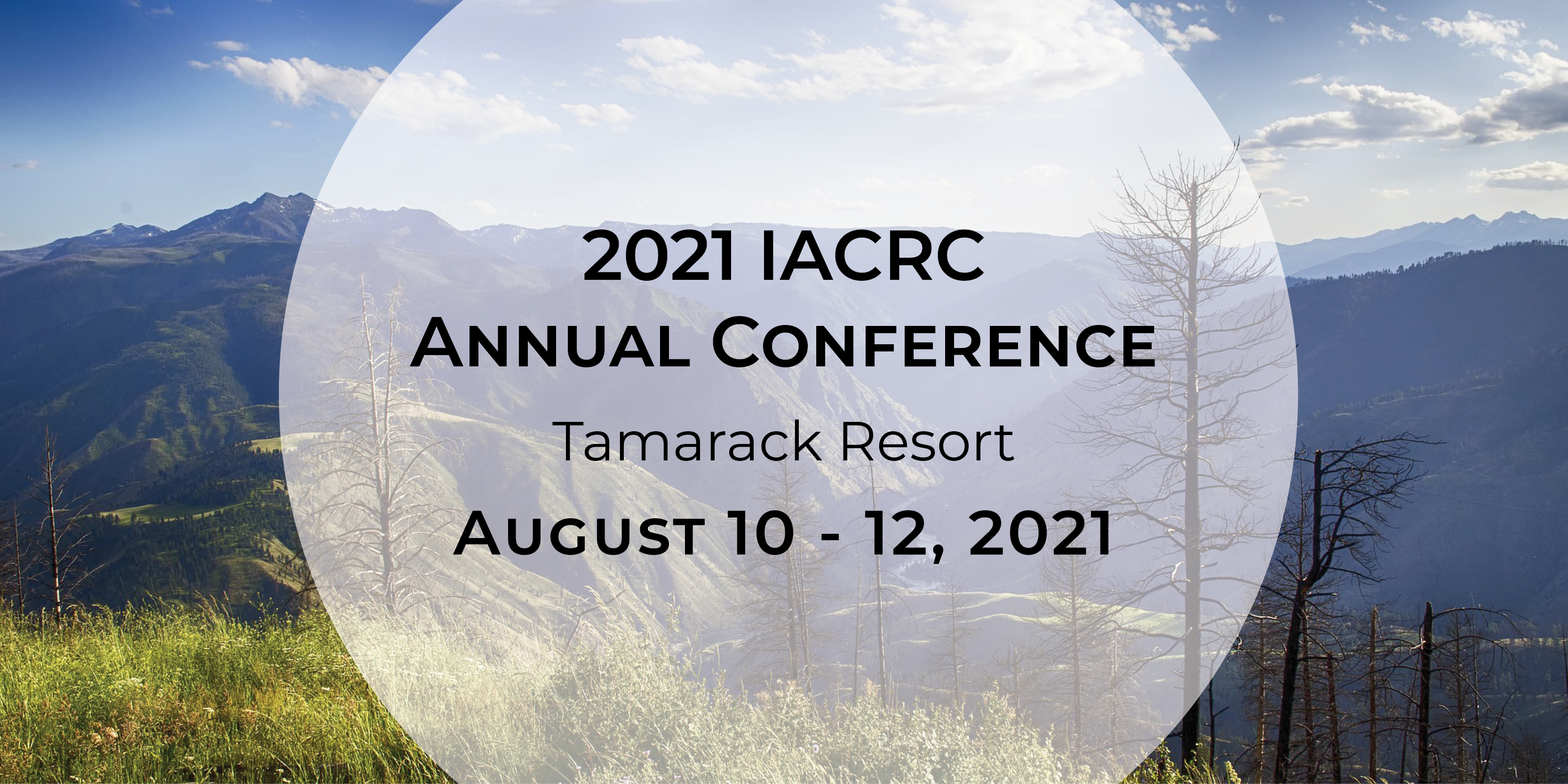 2021 IACRC Annual Conference