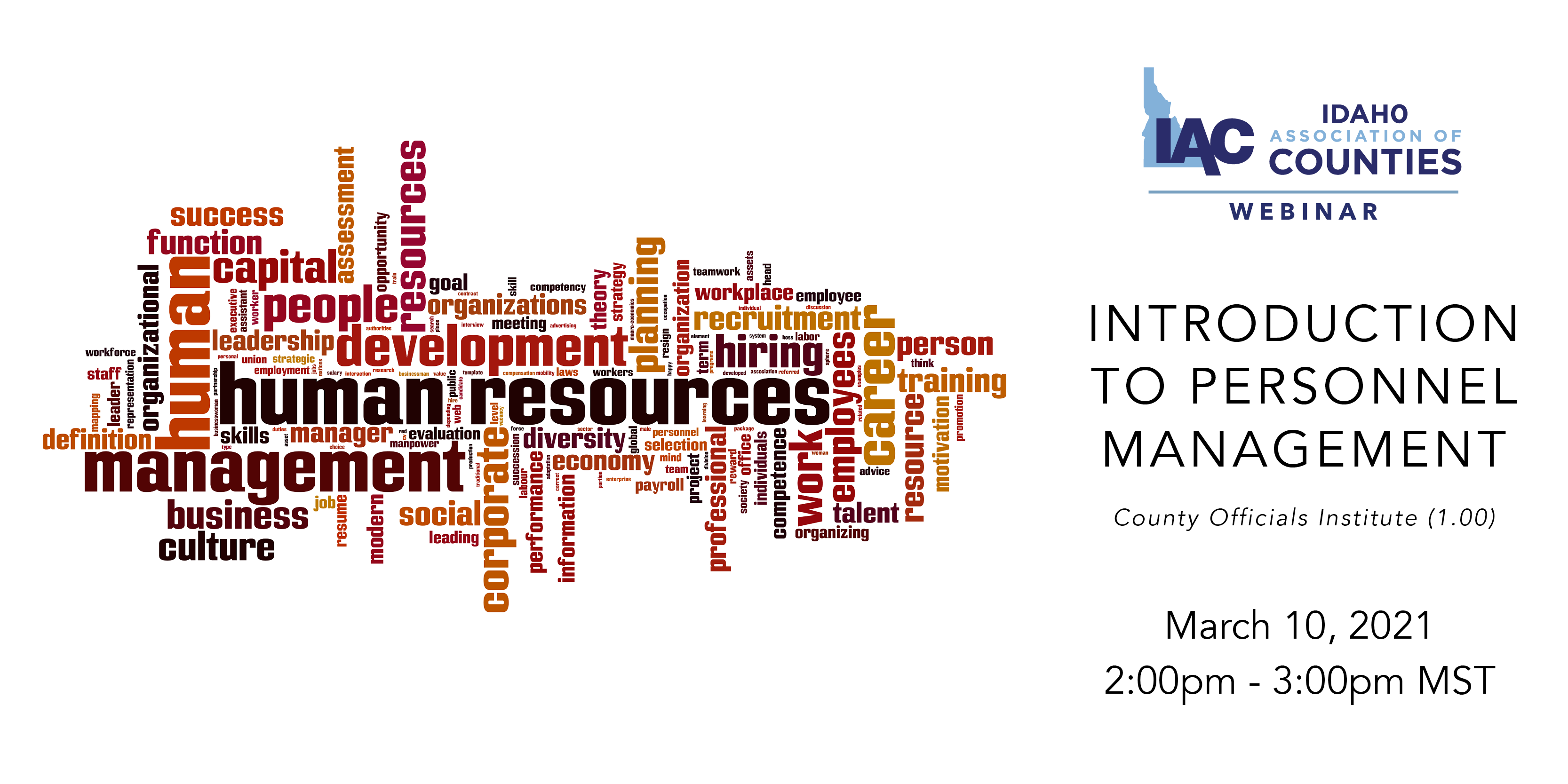 IAC Webinar: Introduction to Personnel Management