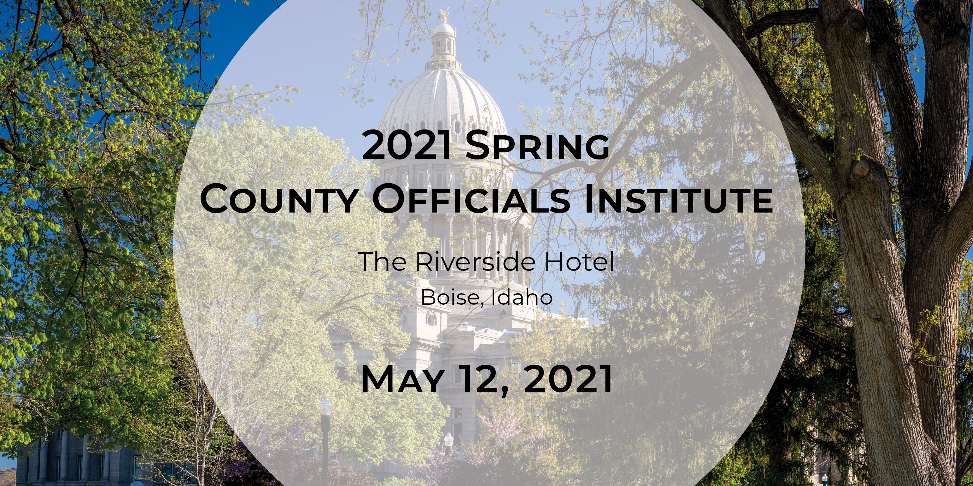 2021 Spring County Officials Institute – Boise
