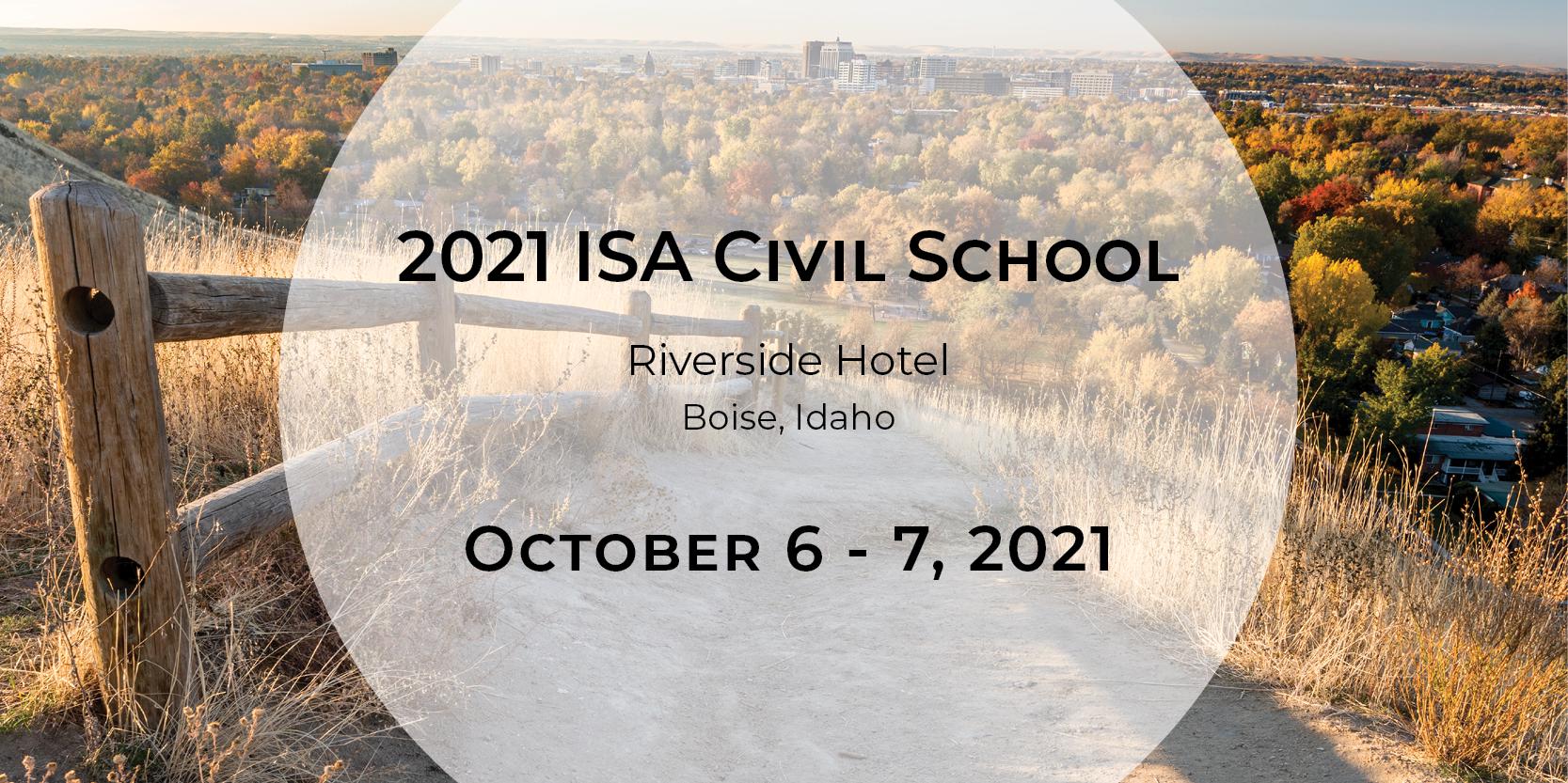 2021 ISA Civil School