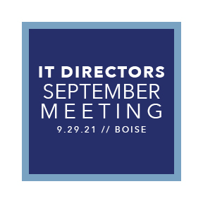 2021 IT Directors September Meeting
