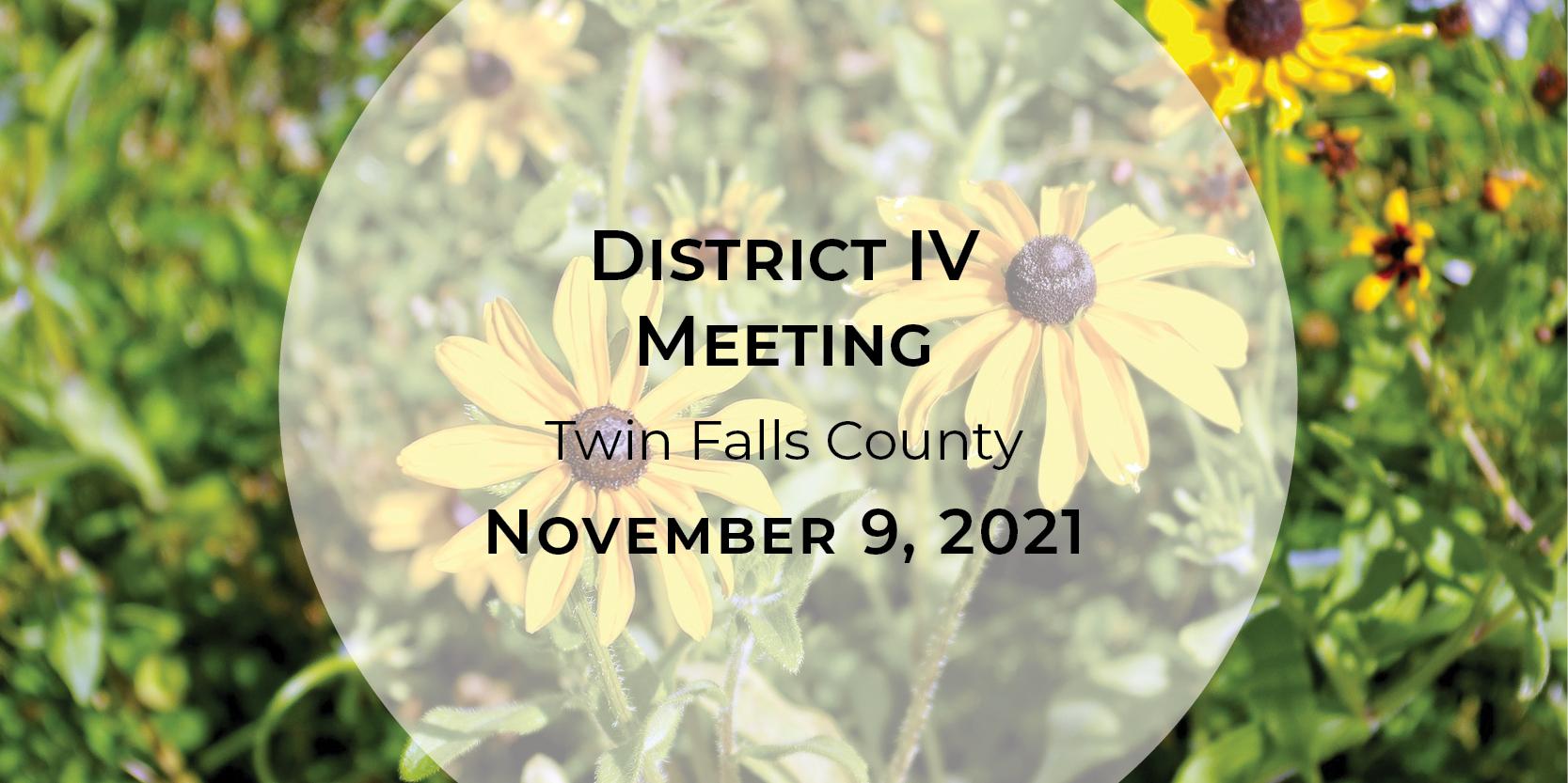 District IV Meeting