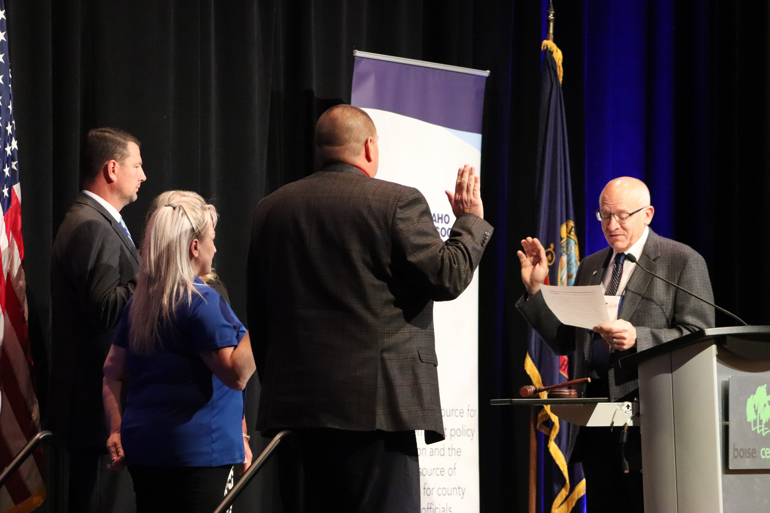2021-2022 IAC Executive Board Members Sworn in at Annual Conference